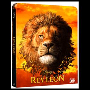 El Rey León (2019) Steelbook 3D + 2D