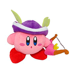 Peluche 12cm Sniper Kirby