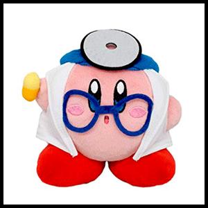 Peluche 12cm Doctor Kirby