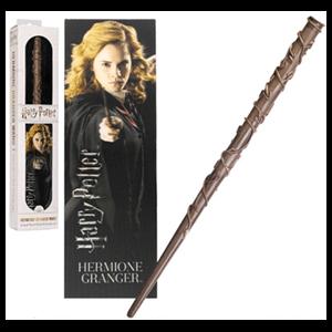 Varita y Marcapáginas 3D Hermione Granger