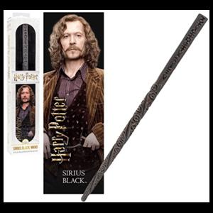 Varita y Marcapáginas 3D Sirius Black