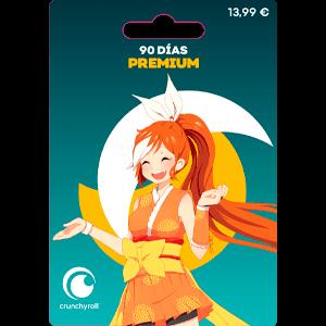 Suscripción 90 Días Premium Crunchyroll