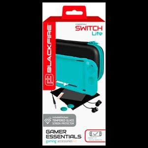 Gamer Essentials Kit Turquesa Blackfire para Nintendo Switch Lite