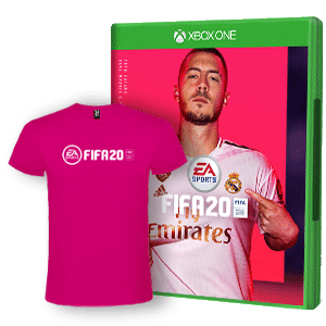 FIFA 20 + Camiseta Algodón Talla S XONE
