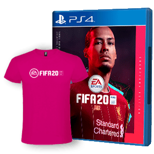 FIFA 20 Champ Edit+ Camiseta Algodon Talla M PS4