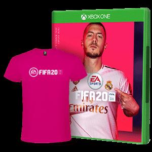 FIFA 20 + Camiseta Técnica Talla M XONE