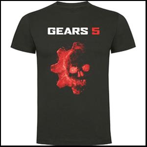 Gears 5 - Camiseta Talla XL