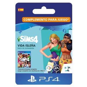 The Sims 4: Vida Isleña PS4
