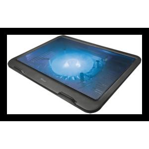 "TRUST ZIVA Cooler Portátil 15,6"" LED Azul"