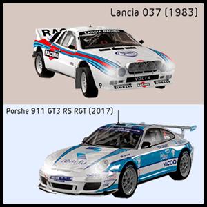 WRC 8 - DLC Lancia 037 + Porche 911 XONE
