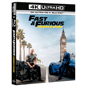 Fast & Furious Hobbs and Shaw 4K + BD