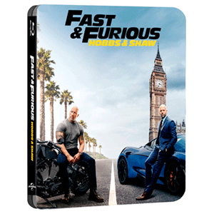 Fast & Furious Hobbs and Shaw Steelbook
