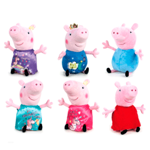 Peluche Surtido Peppa Pig It´s Magic 19cms