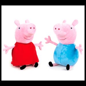 Peluche Surtido Peppa Pig 19cms
