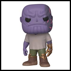Figura Pop Vengadores Endgame: Thanos con Guantelete Dañado