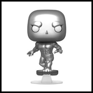 Figura Pop Cuatro Fantásticos: Silver Surfer