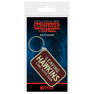 Llavero Stranger Things: Leaving Hawkings