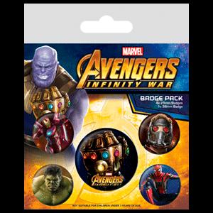 Insignias Vengadores Infinity War