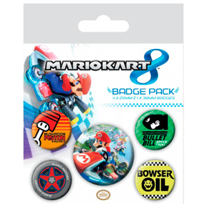 Insignias Mario Kart 8