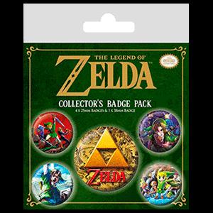 Insignias The Legend of Zelda Classics