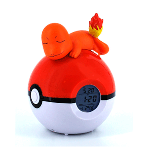 Despertador Luminoso Charmander FM radio