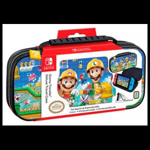 Game Traveller Deluxe Travel Case NNS50C Mario Maker -Licencia oficial-