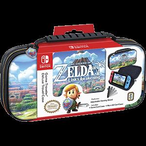Game Traveller Deluxe Travel Case NNS47 Zelda Link's Aw. -Licencia oficial-