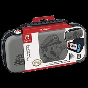 Game Traveller Deluxe Travel Case NNS46G SM Deboss -Licencia oficial-