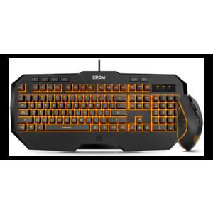 KROM kodex Kit Teclado+Ratón - Pack Gaming - Reacondicionado