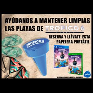 Tropico 6 - papelera de playa