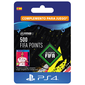 500 FIFA 20 Points Pack PS4