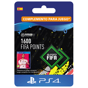 1600 FIFA 20 Points Pack PS4