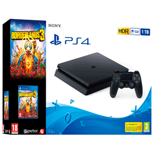 Playstation 4 Slim 1Tb + Borderlands 3
