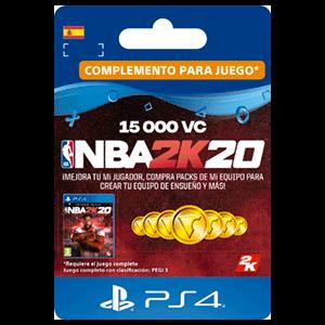 NBA 2K20 15.000 VC PS4