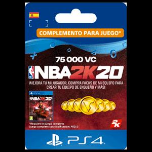 NBA 2K20 75.000 VC PS4