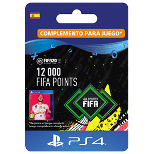 12000 FIFA 20 Points Pack PS4