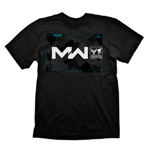 Camiseta CoD MW Negra Multiplayer Composition Talla S