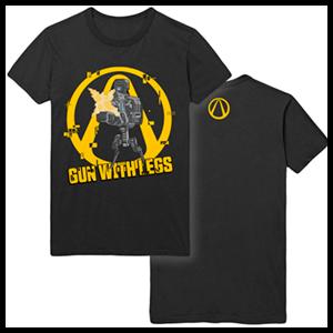 Camiseta Borderlands 3: Gun with Legs Talla S
