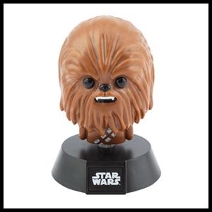 Lámpara Star Wars: Chewbacca