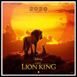 Calendario 2020 El Rey León