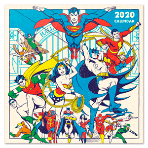 Calendario 2020 DC Originals