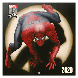 Calendario 2020 Marvel Comics