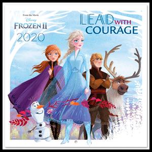 Calendario 2020 Frozen 2