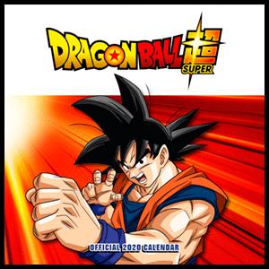 Calendario 2020 Dragon Ball Z