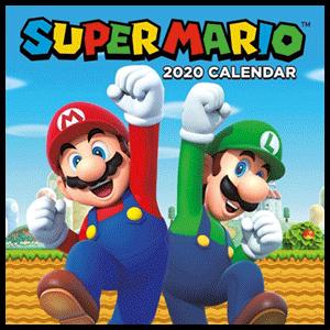 Calendario 2020 Super Mario