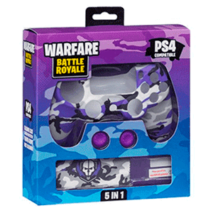 Kit 5 Accesorios mando PS4 Indeca Battle Royale