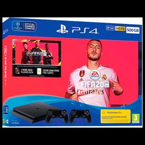 Playstation 4 1Tb + FIFA 20 + FUT+ 2 Controller Sony Dualshock 4 V2