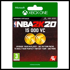 NBA 2K20 15.000 VC XONE