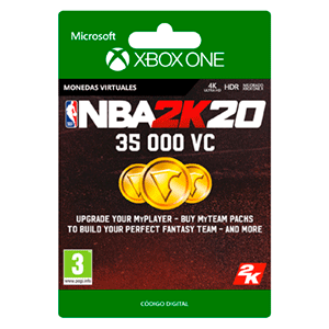 NBA 2K20 35.000 VC XONE