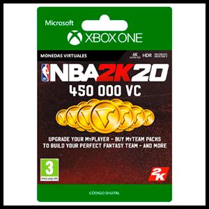 NBA 2K20 450.000 VC XONE